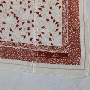 Anne Klein scarf Robinson &Golluber All Silk Japan